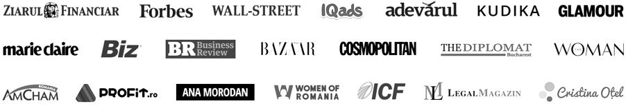 logo-uri, au scris despre mine