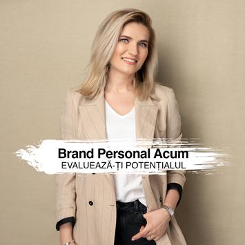 Ședință individuală de evaluare – Brand personal acum. Evaluează-ți potențialul