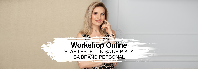 Workshop Online Cum îți stabilești nișa de piață ca brand personal